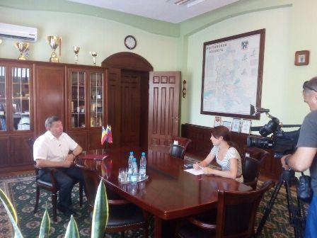 К 80-летию Ростовской области глава администрации Игорь Медведев рассказал ГТРК «Дон-ТР», чем живет город Шахты сегодня