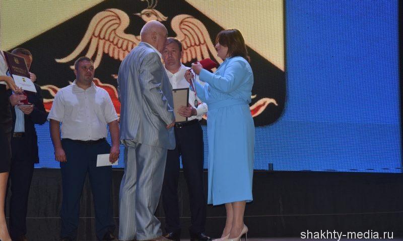 Петр Орлянский награжден Почетным знаком главы г.Шахты