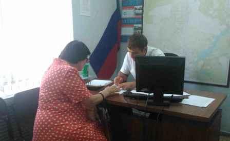 В Центральном территориальном отделе №2 г.Шахты прошел прием граждан