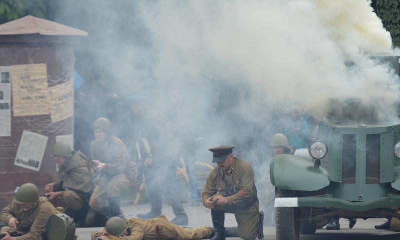 Шахтинцев приглашают на военно-историческую реконструкцию