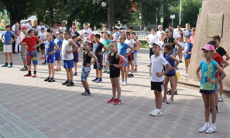 Шахтинцев приглашают принять участие в акции «Зарядка»