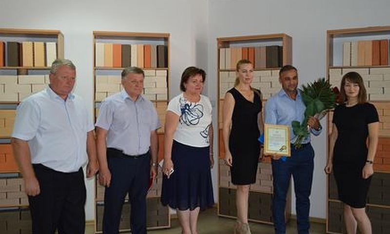 Знаком качества «Сделано на Дону» отмечен Маркинский кирпичный завод