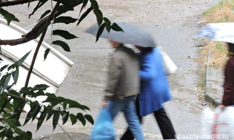 В городе Шахты ожидается шквалистое усиление ветра