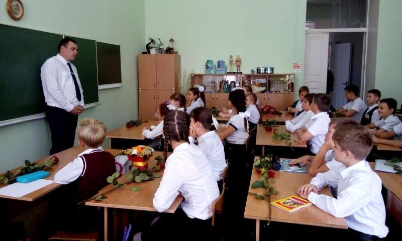 В вузах и школах Ростова провели занятия сотрудники Южного следственного управления на транспорте