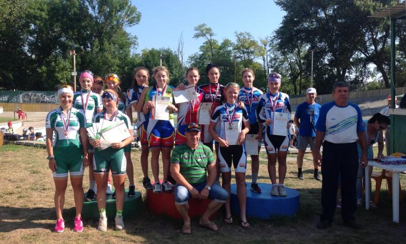 Шахтинские велогонщицы успешно выступили на Первенстве России и Первенстве ЮФО по велоспорту