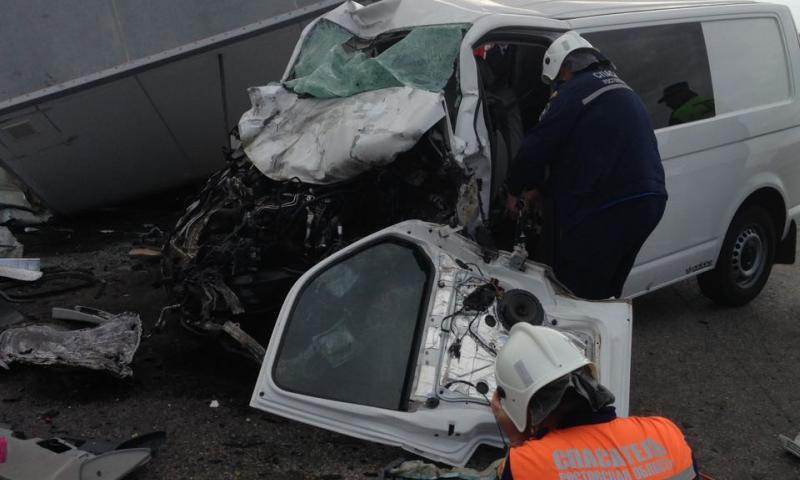 Под Ростовом ликвидировали последствия страшной аварии