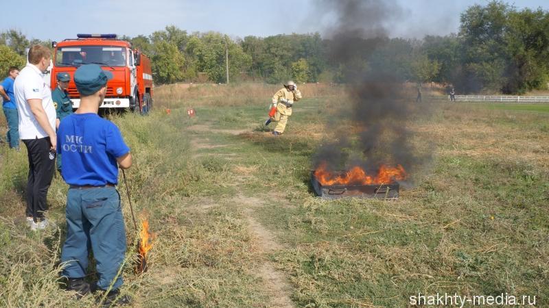 Школа №35 победила в соревнованиях по пожарно-прикладному спорту в городе Шахты