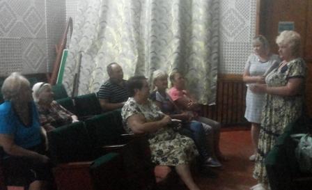 В поселке Таловый г.Шахты прошла встреча с представителями домовых комитетов