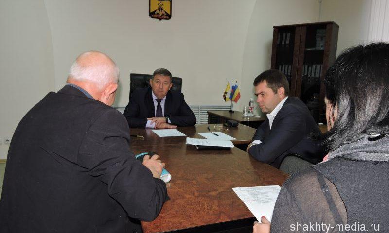 Глава администрации города Шахты Игорь Медведев провел очередной прием граждан