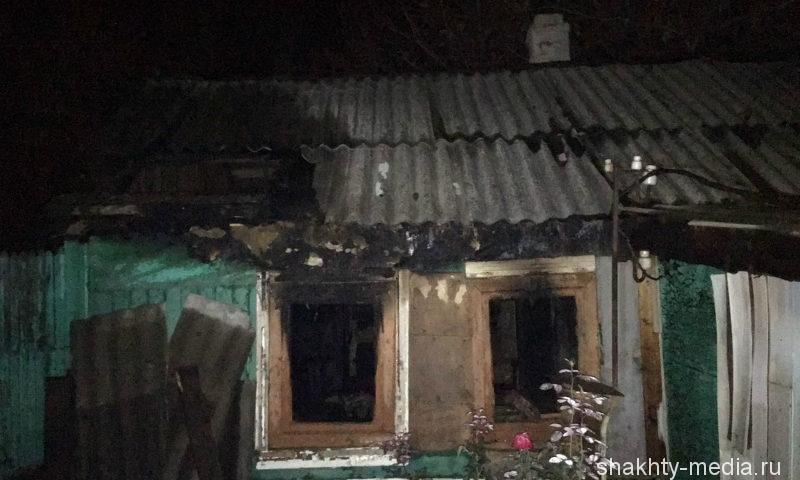 В Шахтах в пожаре сгорел 58-летний мужчина