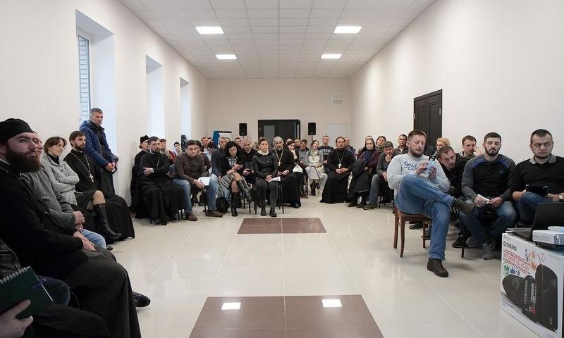 В работе слета православных реабилитационных центров приняли участие представители РЦ хутора Маркин