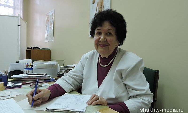 Отличник здравоохранения Галина Урбанова – ровесница Ростовской области