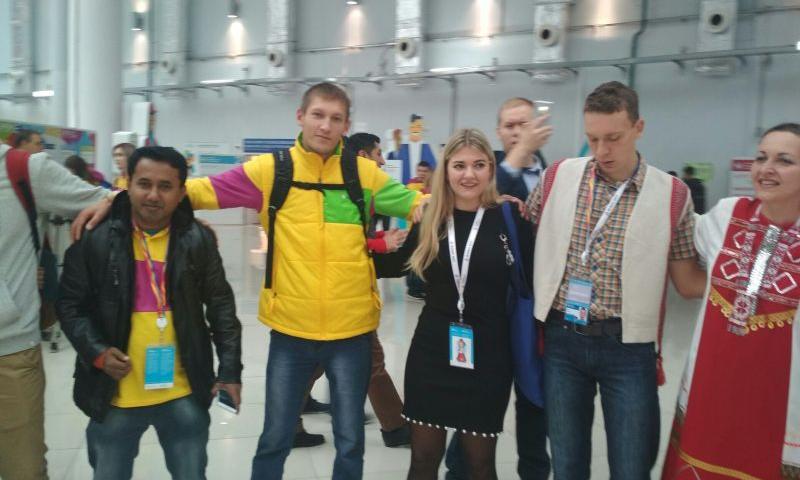 Студенты шахтинского ДГТУ побывали на Всемирном фестивале молодежи