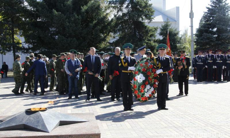 Представители Голицынского пограничного института ФСБ провели в г.Шахты патриотическую акцию