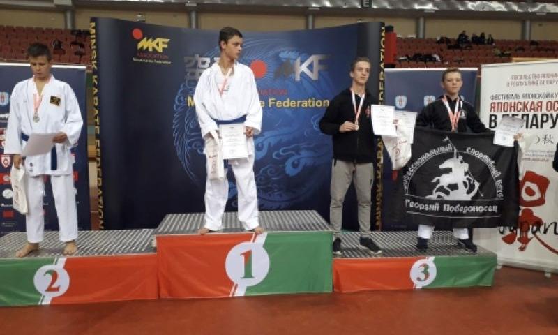 Центр боевых искусств «Георгий Победоносец» г.Шахты привез шесть медалей из Минска