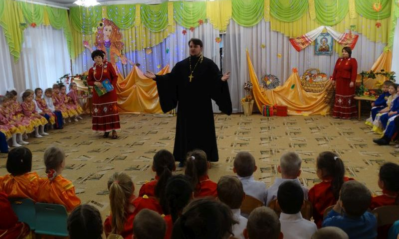 В детском саду №21 прошел праздник «Покрова на Дону»