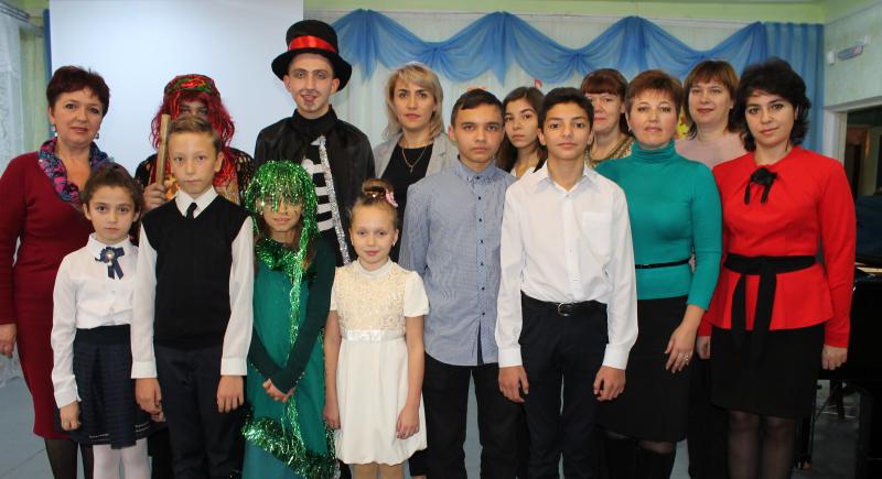 Праздник «Посвящение в юные музыканты» прошел  в Центре искусств им. М.А. Балакирева