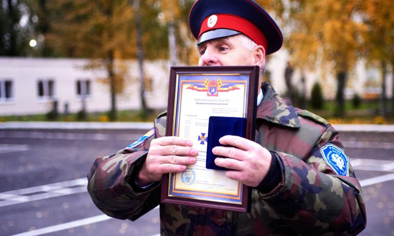 Шахтинский казачий кадетский корпус награжден крестом «За заслуги перед Всевеликим войском Донским»