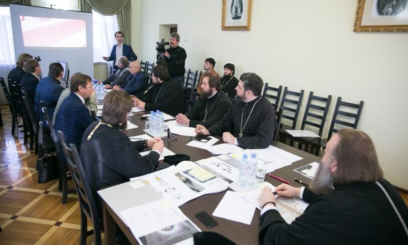 Представитель Шахтинской епархии принял участие в заседании Архитектурно-искусствоведческой комиссии Донской митрополии