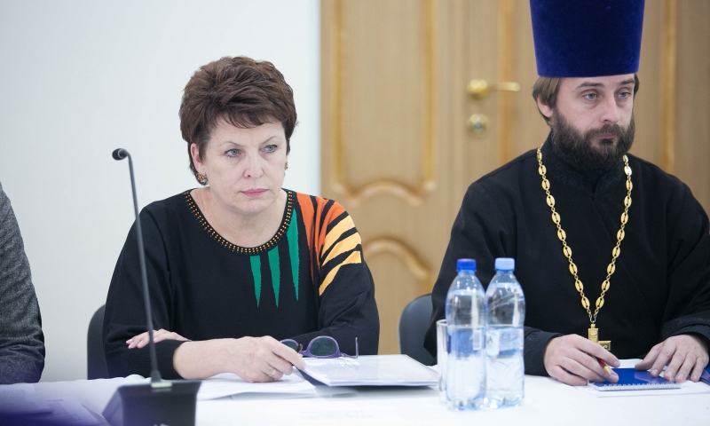 Протоиерей Шахтинской епархии Сергий Яценко принял участие в  заседании комитета  XXII Димитриевских чтений