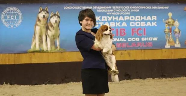 Шахтинка Дарья Пронина с псом  Дарием  достойно выступила на международной выставке