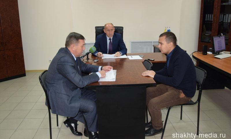 Заместитель губернатора Ростовской области Владимир Крупин провел прием граждан в Шахтах