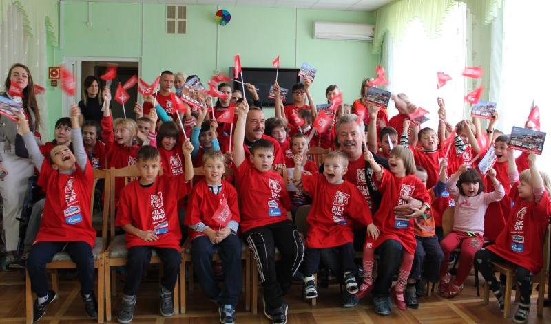 Воспитанники «Добродеи» встретились с представителями «КАМАЗ-мастер»