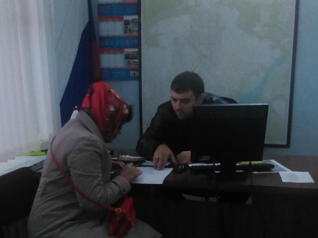 В Центральном территориальном отделе №2 администрации города Шахты состоялся еженедельный прием граждан