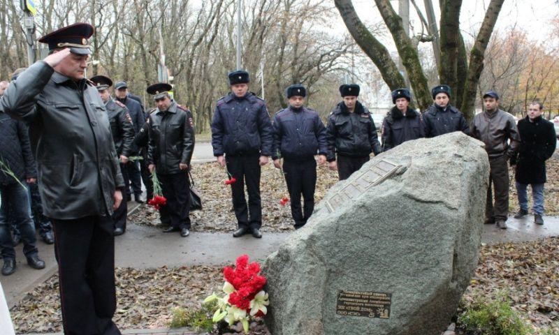 В Ростовской области увековечили память сотрудника вневедомственной охраны, погибшего при задержании банды преступников