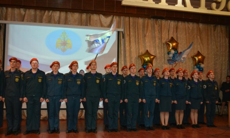В Шахтах студенты-спасатели приняли присягу на верность своей профессии