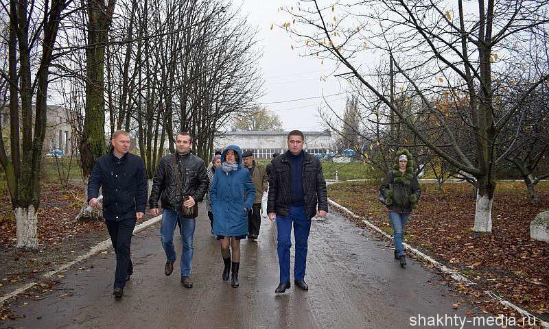 Шахтинцам провели экскурсию по территории третьего водоподъема