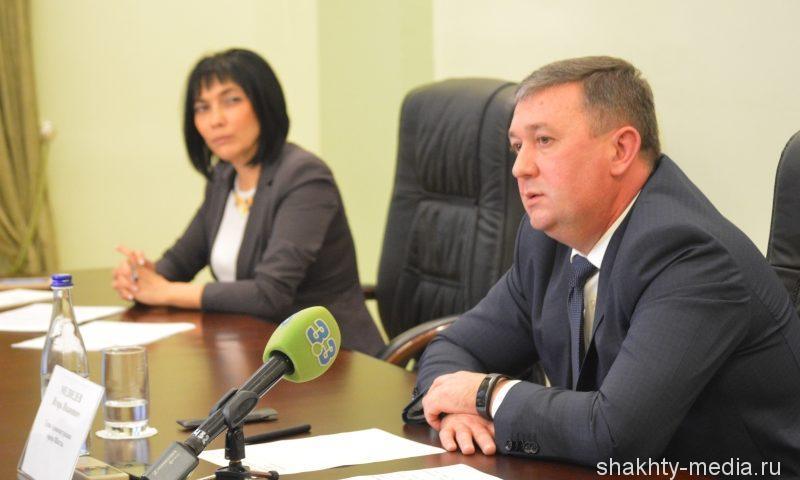 Пресс-конференция главы администрации города Шахты Игоря Медведева длилась два часа