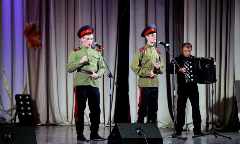 Шахтинские кадеты стали победителями и лауреатами в конкурсе «Златая поляна Юга России 2017»