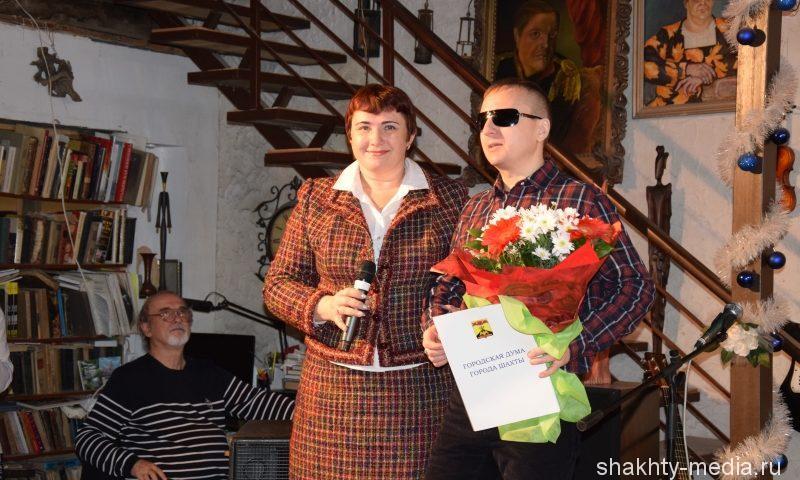 Виктор Тартанов  получил Благодарственное письмо городской Думы