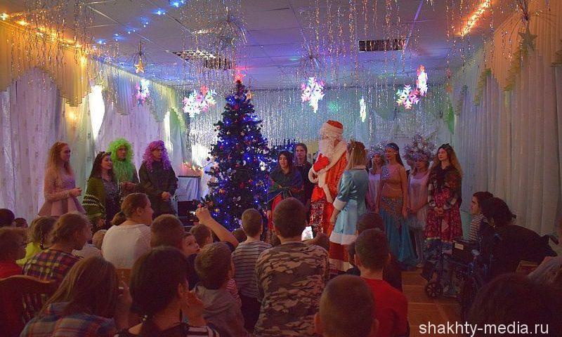 В детском реабилитационном центре «Добродея» г.Шахты прошел новогодний утренник