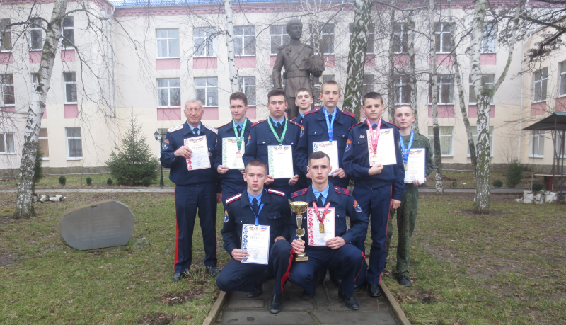 Кадеты Шахтинского казачьего кадетского корпуса в 18-й раз стали победителями первенства Ростовской области по полиатлону