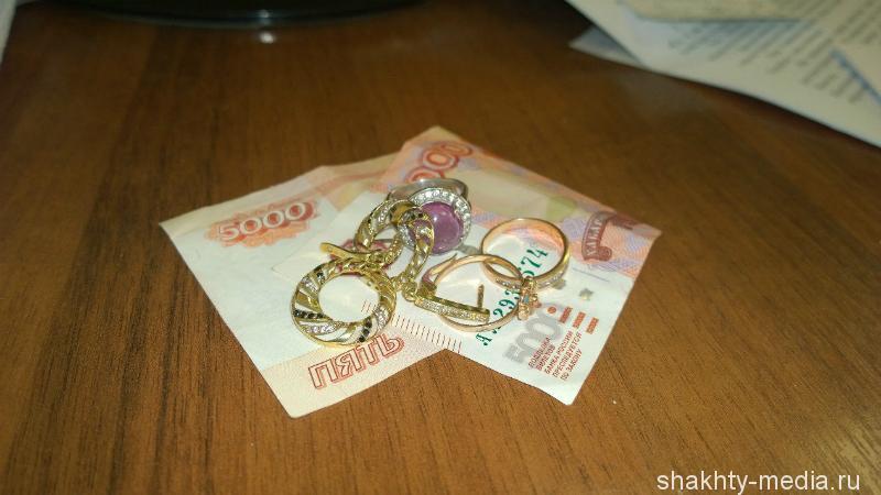 Задержан вор, вынесший из квартир шахтинцев ценных вещей на 750 тысяч рублей