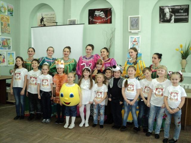 Школьники г.Шахты отметили День Татьяны Крещенской