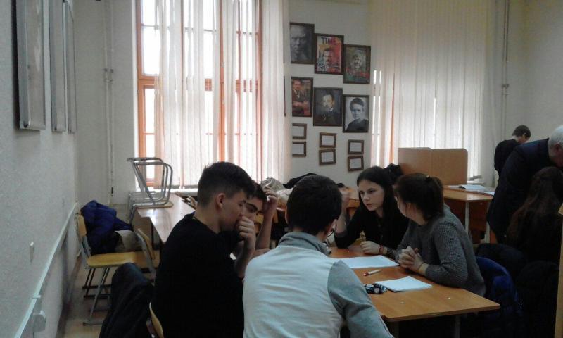 Юные историки из ГДДТ г. Шахты приняли участие в зимней сессии областного образовательного проекта