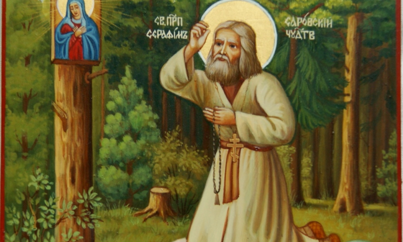 В Ростов привезли икону с мощами святого Серафима Саровского