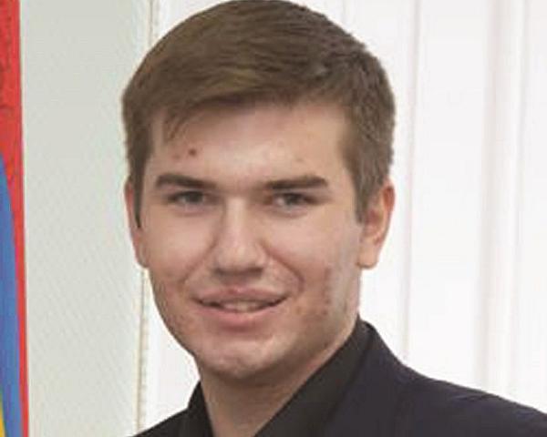 Антон Плотников, председатель Молодежной избирательной комиссии при ТИК города Шахты: