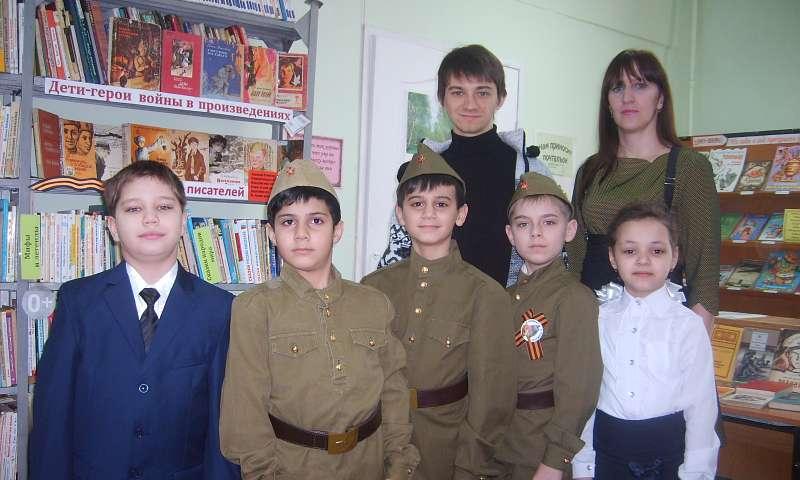Ученикам лицея №6 рассказали о детях-героях Великой Отечественной войны
