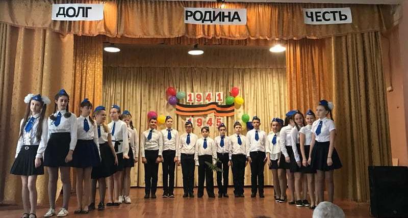 В лицее №26 прошел фестиваль военно-патриотической песни