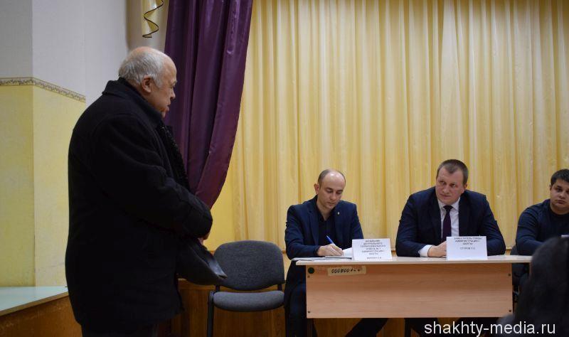 В поселке Поповка г.Шахты прошла встреча информационной группы с населением