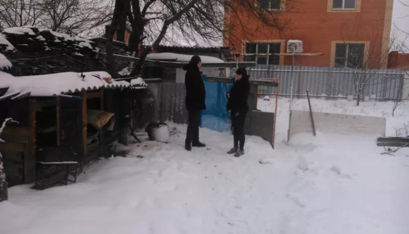 Сотрудники Центрального территориального отдела №2 администрации города Шахты провели выезд по обращениям граждан