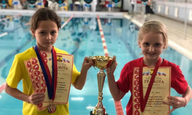 В Шахтах прошло Открытое первенство города по плаванию «Олимпийские надежды»