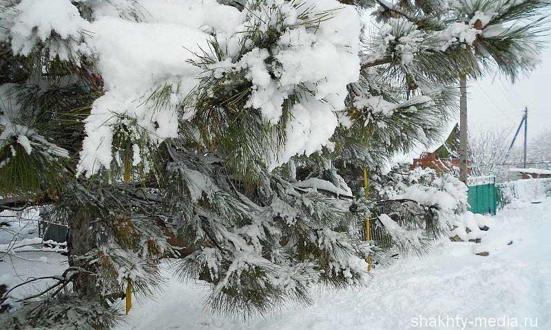 На выходных в Шахтах ожидаются снег, мороз и метель