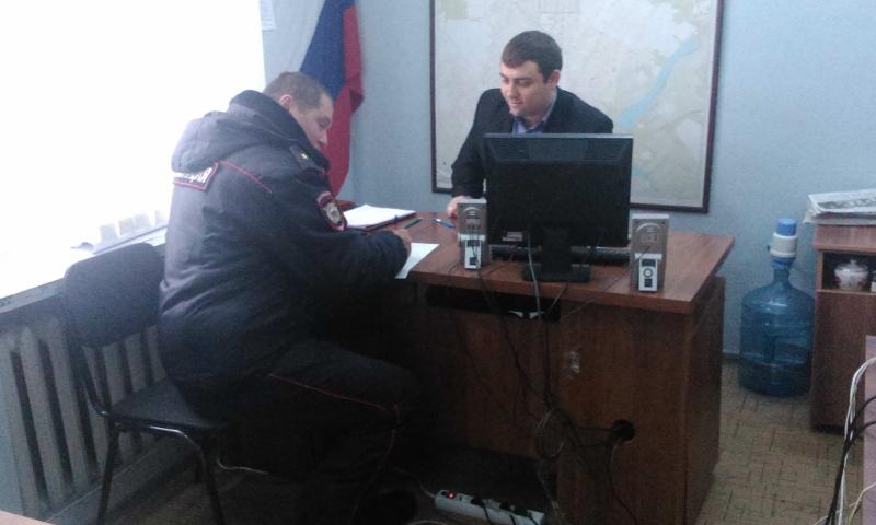 В Центральном территориальном отделе №2 прошла рабочая встреча с участковым уполномоченным полиции п. ХБК