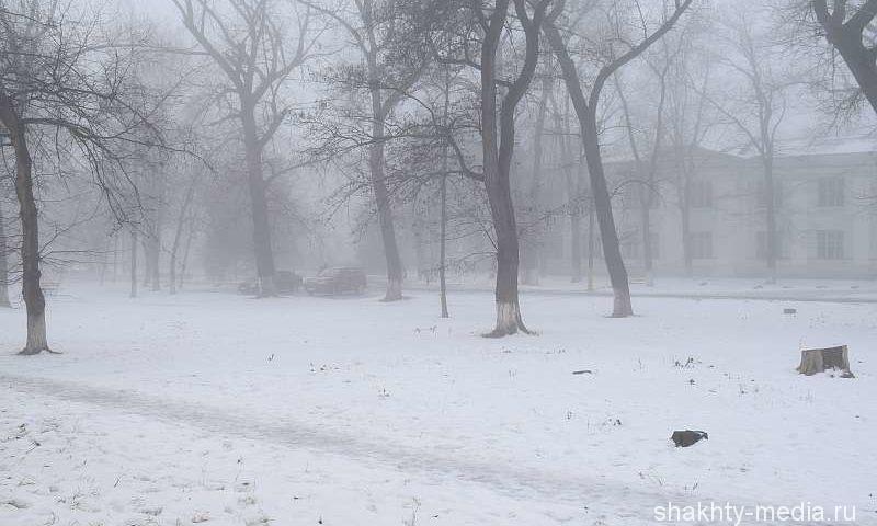 Туман, дождь со снегом принесет новая неделя в Шахтах