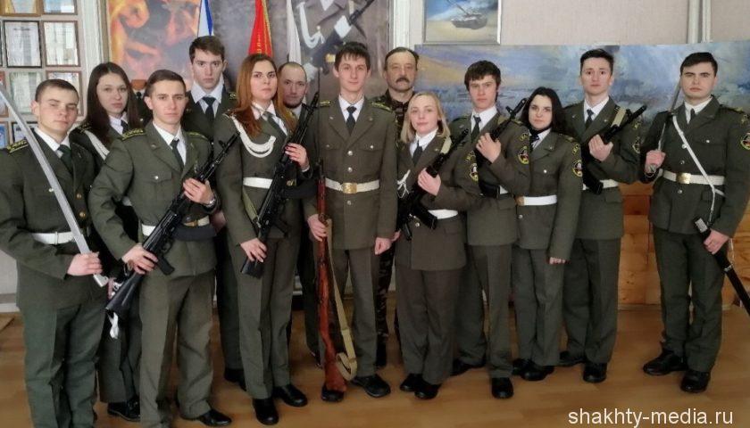 Бойцам  поискового отряда «Ратобор» вручены медали администрации г. Шахты